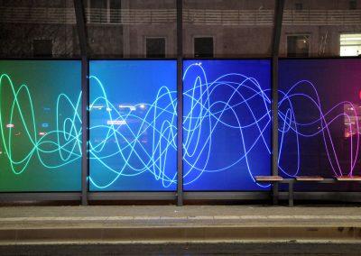 Lichtkunst in Glas