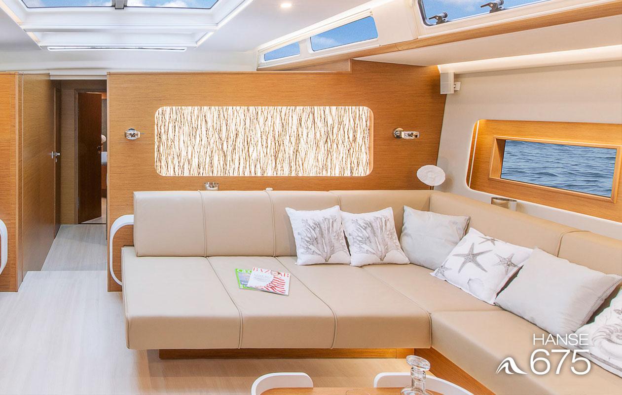 Außergewöhnliche Design-Beleuchtung in Serienfertigung bestehend aus dem Flaechenlicht Lightpanel alu slim von axis Nürnberg und der Designpanel Oberflaeche Invision raffia.