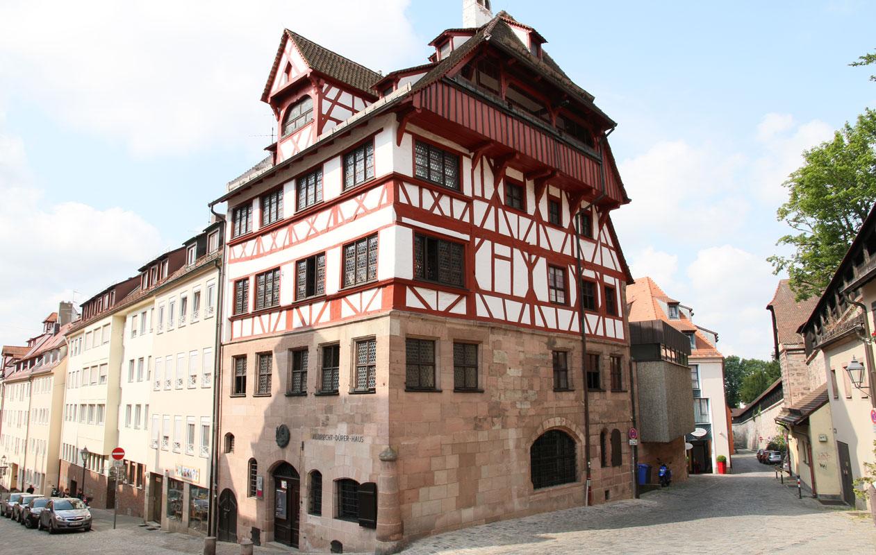 Das Albrecht Dürer Haus, Nürnberg. Foto: axis
