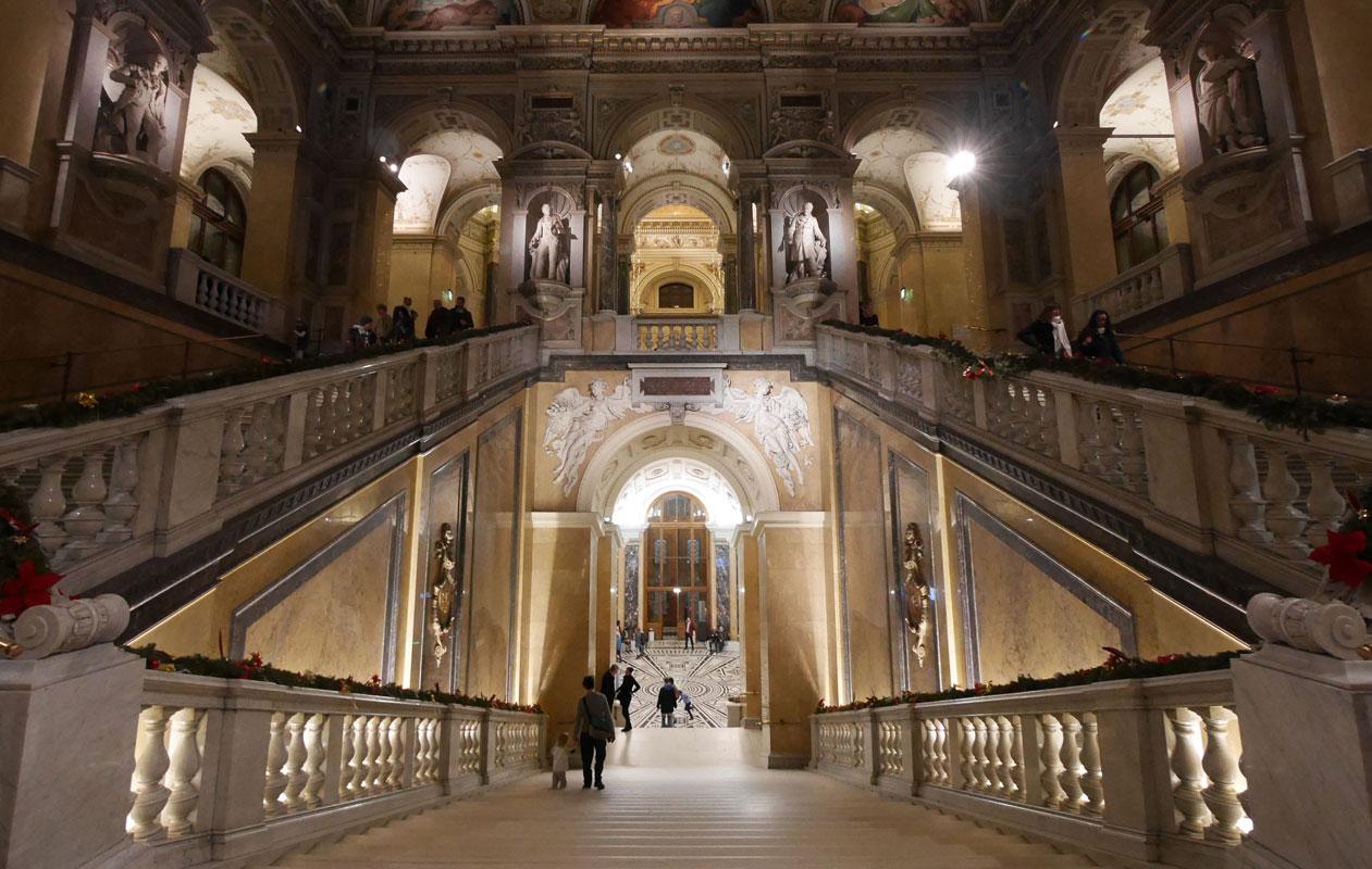 Das Naturhistorische Museum in Wien. Foto: axis