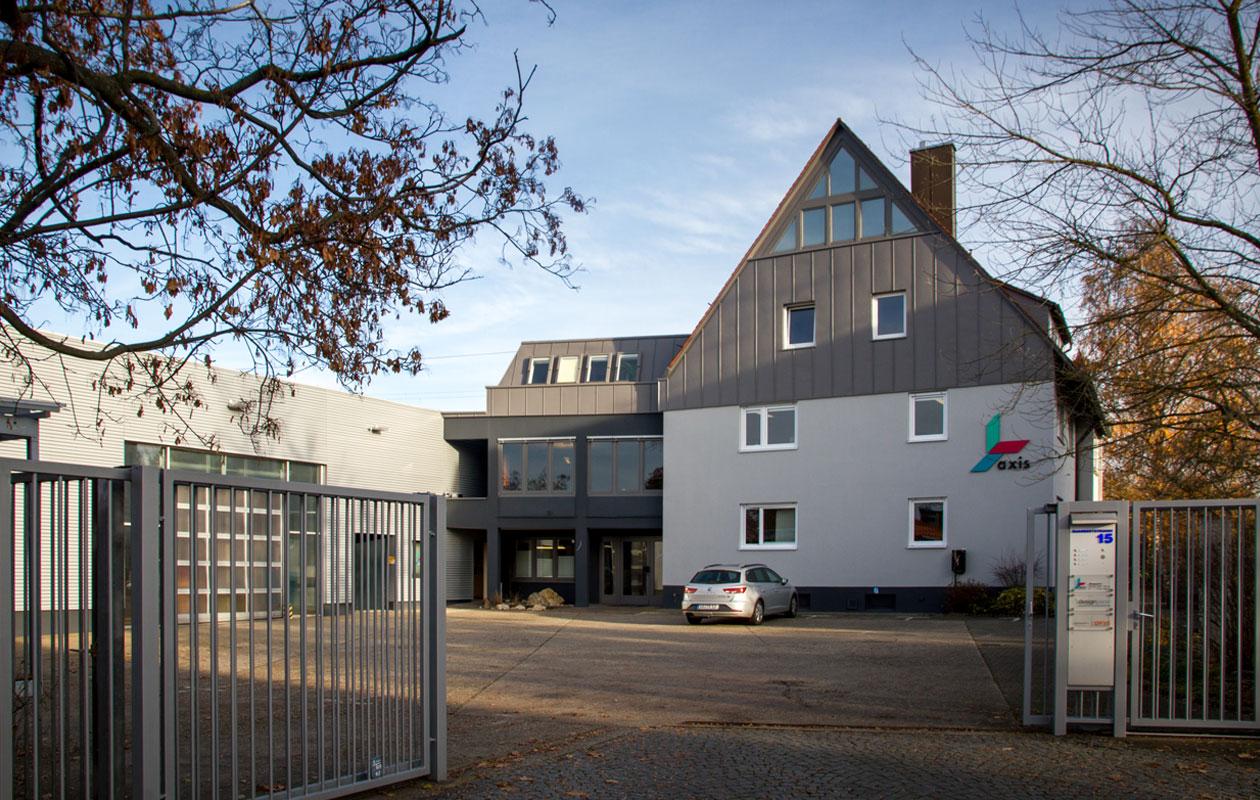 axis GmbH & Co. KG, Zentrale, Dagobertstraße 15, 90431 Nürnberg