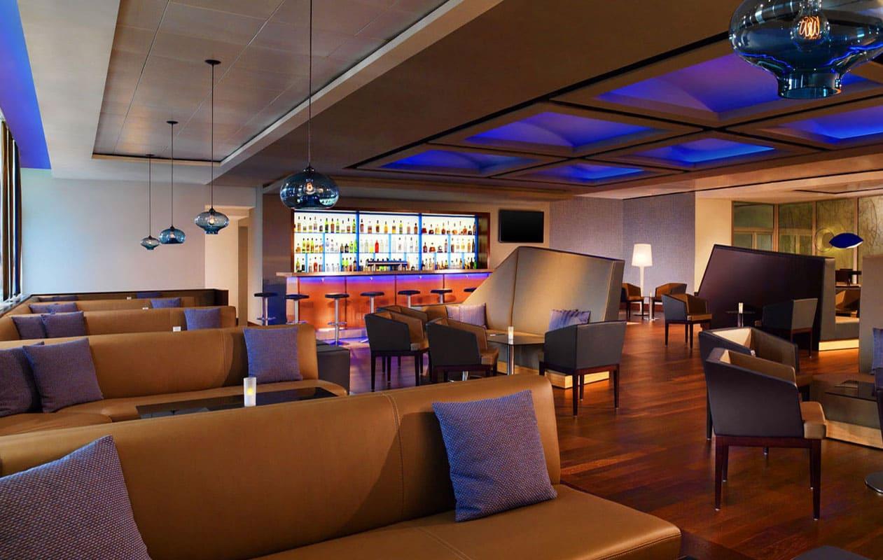 Die Lemons & Limes Bar im Sheraton Hotel, Flughafen Frankfurt.