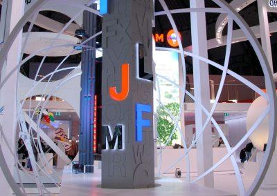 Osram Messestand Light & Building