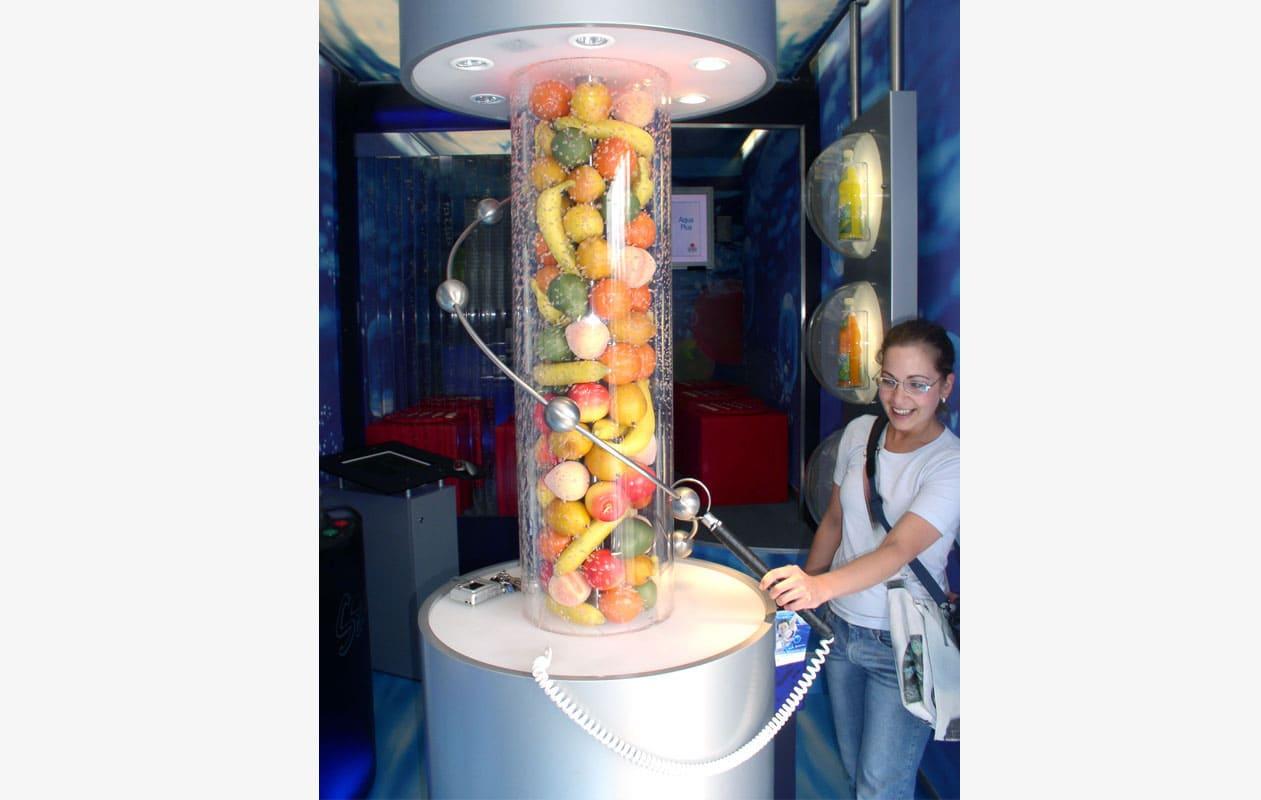 """Hands-On im Frankenbrunnen Showtruck """"Wasserwelten"""""""