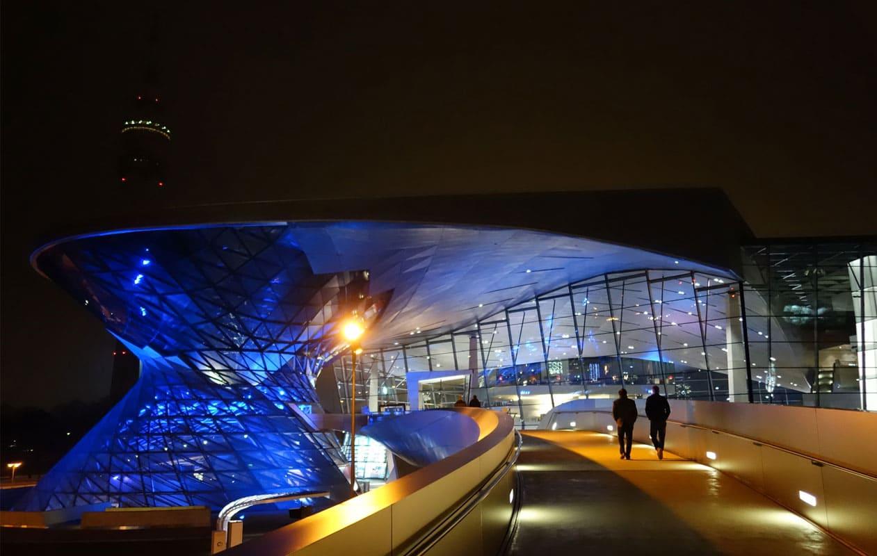 Die BMW-Welt in München. Foto: axis